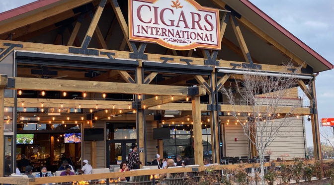 Lounge Review: Cigar International, The Colony, Texas